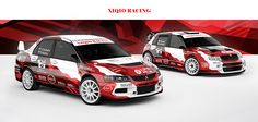New design and wrap of two race cars for slovak Xiqio Racing Team