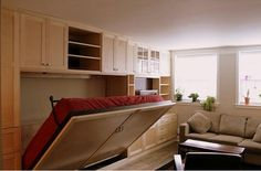 Built+In+Wall+Beds | Murphy Beds/Wall Beds | Built-in Beds - Nooks