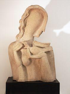 Ossip Zadkine, Femme a la colombe - 1936 - Zadkine Research Center