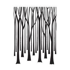 Darice®+Embossing+Folders:+Thin+Tree+Trunks+Embossing+Folder,+4.25+x+5.75