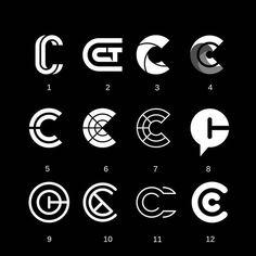 463 Likes, 8 Comments - Logo Hero Typo Logo Design, Brand Identity Design, Branding Design, Branding Ideas, Logo Ideas, Monogram Logo, Logo Inspiration, Coding Logo, Logo Branding