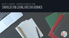 How to give effective feedback and get your students to use it! Teaching Philosophy, Philosophy Of Education, First Year Teaching, Teaching Writing, Teaching Methods, Teaching Strategies, Standards Based Grading, Student Data, High School English