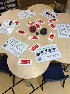 Pin By A Townsend On Number Maths Eyfs Kindergarten Math Mastery Maths Eyfs, Numeracy Activities, Eyfs Classroom, Guided Maths, Year 1 Maths, Early Years Maths, Math Subtraction, Subtraction Activities, Multiplication