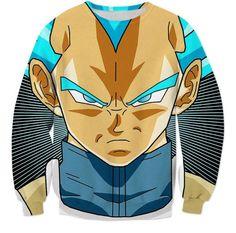 Super Saiyan God Super Saiyan Blue Vegeta Cool Sweatshirt
