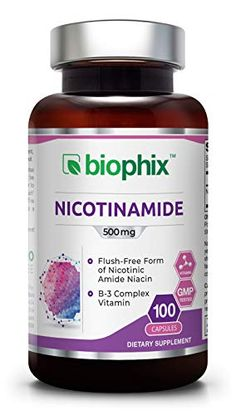 Nicotinamide 1000 mg 60 Tabs Extra Strength Slow Release Natural Flush-Free Vitamin Headache Cure, Anti Aging Supplements, Energy Supplements, Best Anti Aging, The Cure, Vitamins, Healthy, Skin Products, Natural Products