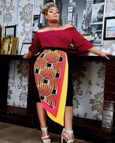 Gorgeous Ankara Styles Just For You Ankara Styles For Men, Ankara Dress Styles, African Print Dresses, African Fashion Dresses, African Wear, Fashion Outfits, African Prints, Ankara Blouse, Fashion Styles