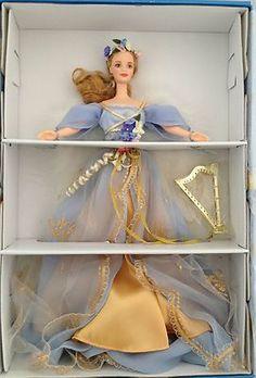 Mattel Barbie Harpist Angel Barbie Doll