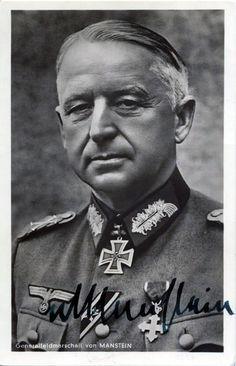 Generalfeldmarschall Erich von Manstein --- Oberbefehlshaber Heeresgruppe Süd. - http://www.das-ritterkreuz.de/index_search_db.php4?modul=search_result_det&wert1=3726&searchword=manstein