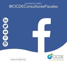 /Siguenos http://facebook.com/CICDEConsultoresFiscales … … Visita http://cicde.mx/servicios   Conoce nuestros servicios #Contabilidad #Fiscales #YEsaCostumbreTuya
