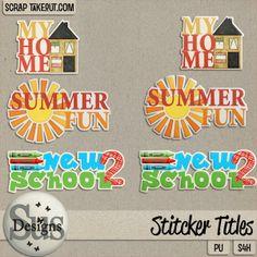 Sus Designs: *09 Tutorial* Sticker Titles