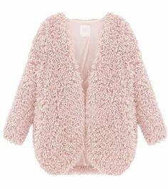 Ronnie Shaggy Faux Fur Coat