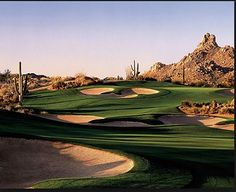 Scottsdale, Arizona features some of the most beautiful golf courses in the world