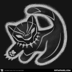 Black Panther T-Shirt by Miguel Lopez aka MIKELopez. The Panther King is a parody of Simba from the Lion King for fans of Marvel Comics' Black Panther. Marvel Dc Comics, Marvel Avengers, Captain Marvel, Combat Rapproché, Black Panthers, Fandoms, Black Panther Marvel, The Villain, Marvel Movies