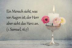 Taufspruch 1.Samuel 16,7
