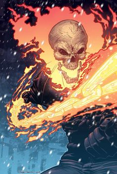 Ghost Rider by Ross Campbell........!!!!