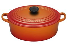 I have wanted to start building up a Le Creuset range for so long now. I always get carried away with the different colours but I always come back to the Volcanic range. Timeless piece don't you think?.....