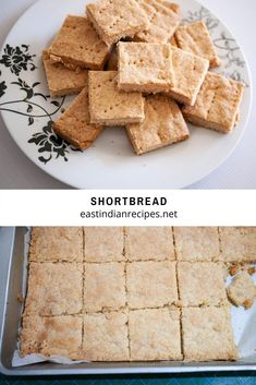 If you like shortbread these are simple, easy, and fun to make. The dough takes just 5 minutes to prepare and 30 minutes to bake. The perfect snack with a cup of chai #shortbread #baking #shortbreadsquares #shortbreadcookies Cute Kids Crafts, Christmas Tree Cake, Just Bake, Edible Food, Shortbread Cookies, Recipe Cards, Baking Pans, Tray Bakes, Chai