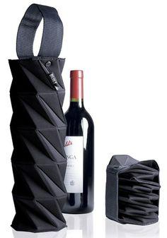 Accordion Wine Holder..