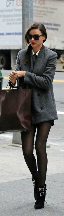 #Miranda #Kerr Street Chic kills the boyish/girlie look for #fall