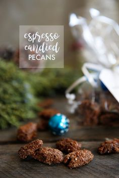 Espresso Candied Pecans (DIY Holiday Gift, Paleo-Friendly)   Lexi's Clean Kitchen