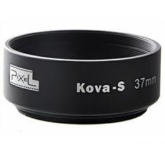 Pixel Kova-S 37mm Matte Black Standard Metal Cuffs Hood