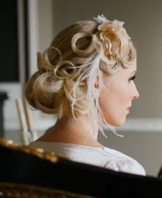 gatsby hairstyles | Great Gatsby style wedding shoot – Get 1920′s vintage inspiration