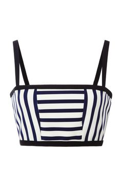 Friday Finds: Nautical Trend – April Golightly navy and white cropped top moda operandi #aprilgolightly #fridayfinds