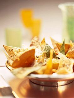 Make Your Own Tortilla Chips, for my enchilada soup :)