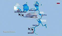 Turismo y Rutas: Rusia.- Un crucero por el Volga de San Petersburgo a Moscú