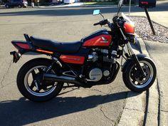 My 1984 Honda Nighthawk the day I brought it home. Honda Motorcycles, Custom Motorcycles, Cars And Motorcycles, Honda Nighthawk, Cool Bikes, Scooters, Motorbikes, Wheels, Nice