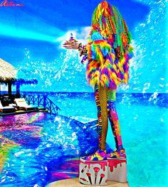 Have a wonderful day 🐬🐠⭐️   #ryanjasterina #travel #fashiondesigner #perfection #parisfashionweek #ladygaga #armani #BoraBora #アステライナ #モデル #annawintour #gigihadid #nylonjapan #ellejapan #queenelizabeth #nhk #日本テレビ #ヒルズ族 #MYMODE #東京モード学園 #国会議員 #芸能人 #電通 #vogue #jeffreestarcosmetics