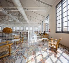 Biblioteca Can Manyer - DFT Arquitectos / Vilassar de Dalt / Spain / 2014 Interior Architecture, Interior Design, Fabre, Old Factory, Store Design, Condo, Flooring, Canning, Room