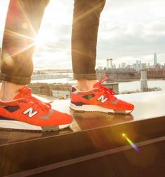 J.Crew X New Balance limited edition Inferno Sneaker