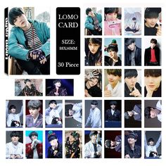 Jewelry & Accessories Beads & Jewelry Making Enthusiastic Kpop Exo Album Baekhyun Lomo Cards K-pop New Fashion Self Made Paper Photo Card Hd Photocard