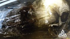 Custom Airbrushed Motorcycle Airbrushing Custom Honda Sculls Artist Yury Sokolov Аэрография мотоциклов Yourlife Airbrushing (Custom paint/Airbrushing/Design) YOURLIFE AIRBRUSHING ▲- Аэрография & Дизайн: Аэрография на мотоциклах