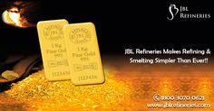 #JBLRefineries Makes #Refining & #Smelting Simpler Than Ever!!