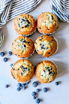 The Best Easy Jumbo Blueberry Muffins Recipe - Sweet Cs Designs The Best Easy Jumbo Blueberry Muffins Recipe – breakfast Jumbo Blueberry Muffin Recipe, Homemade Blueberry Muffins, Jumbo Muffins, Simple Muffin Recipe, Healthy Muffin Recipes, Easy Baked Pork Chops, Blue Berry Muffins, Snacks, Biscuits
