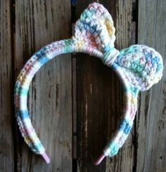 Multicolored Toddler Bow Headband by owlbolt on Etsy, $8.00