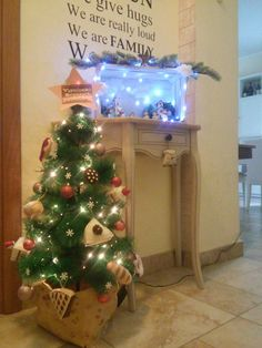 Sweets Christmas tree