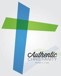 Authentic Christianity by Matt Higgins, via Behance