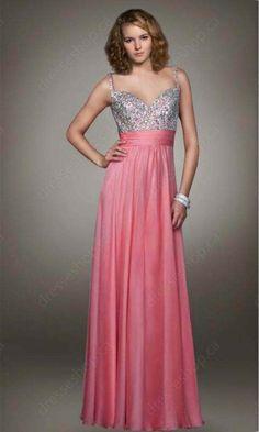 A-line Evening Dress - #evening dresses