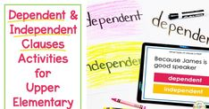 Response Cards, No Response, Dependent And Independent Clauses, Incomplete Sentences, 5th Grade Ela, Best Speakers, Sentence Structure, 5th Grades, Task Cards