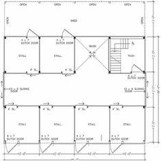 barn/garage plan