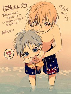 knb ~ omg♡ I don't even know Free that much but this makes me want to know more heheh :3