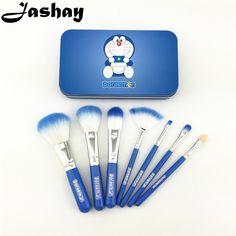 $7.52 (Buy here: https://alitems.com/g/1e8d114494ebda23ff8b16525dc3e8/?i=5&ulp=https%3A%2F%2Fwww.aliexpress.com%2Fitem%2FNew-Doraemon-7-Pcs-Mini-Makeup-brush-Set-cosmetics-kit-pincel-maquiagem-make-up-brush-Kit%2F32501110087.html ) Jashay Doraemon 7 Pcs Mini Makeup brush Set cosmetics kit  pincel maquiagem make up brush Kit with Metal box pinceaux maquillage for just $7.52