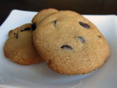 BakerGal: Delicious Paleo Chocolate Chip Cookie Recipe- need to try & get coaches approval!