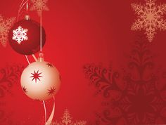 #gospel backgrounds #snowflake red christmas ball