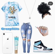 Cute Lazy Outfits, Baddie Outfits Casual, Swag Outfits For Girls, Teenage Girl Outfits, Cute Swag Outfits, Girls Fashion Clothes, Teenager Outfits, Dope Outfits, Teen Fashion Outfits