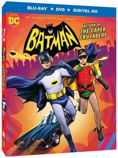 Adam West and Burt Ward return in new Batman: Return of the Caped Crusaders…