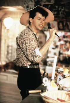 Duckie! I have so much love for Jon Cryer in this movie. (I loooooove the character of Duckie! :)